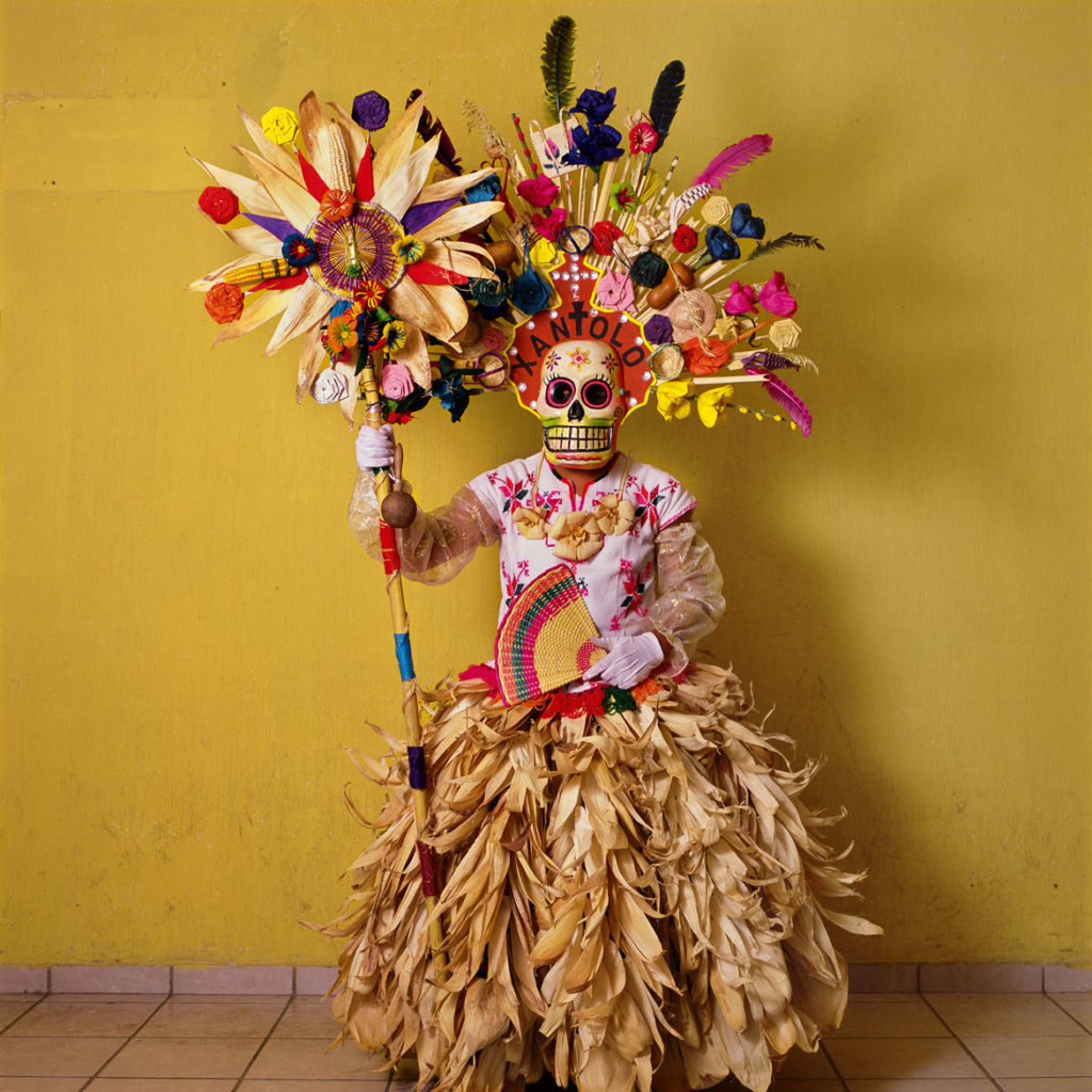 "Phyllis Galembo, ""Catrina, Axtla Jacaraondosos Group, All Saints' Day,"" 2016, from ""Mexico Masks 