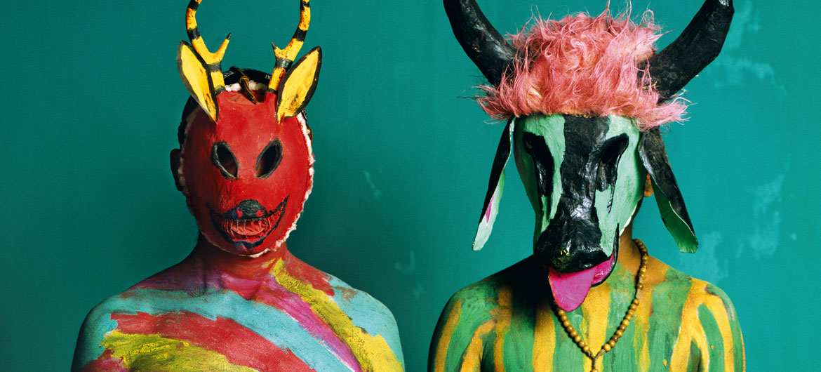 "Phyllis Galembo, ""Deer and Bull, Semana Santa,"" 2012, from ""Mexico Masks 
