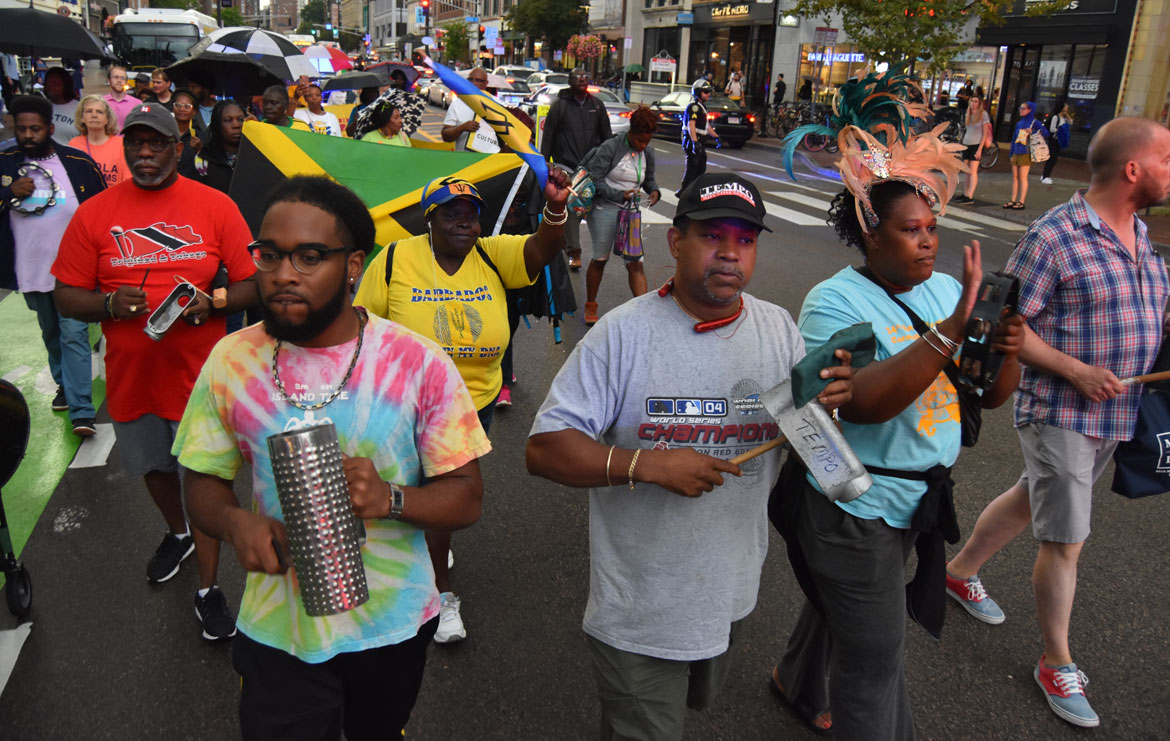 At Protest Over Canceled Cambridge Carnival, Organizers ...March For Peace 2019