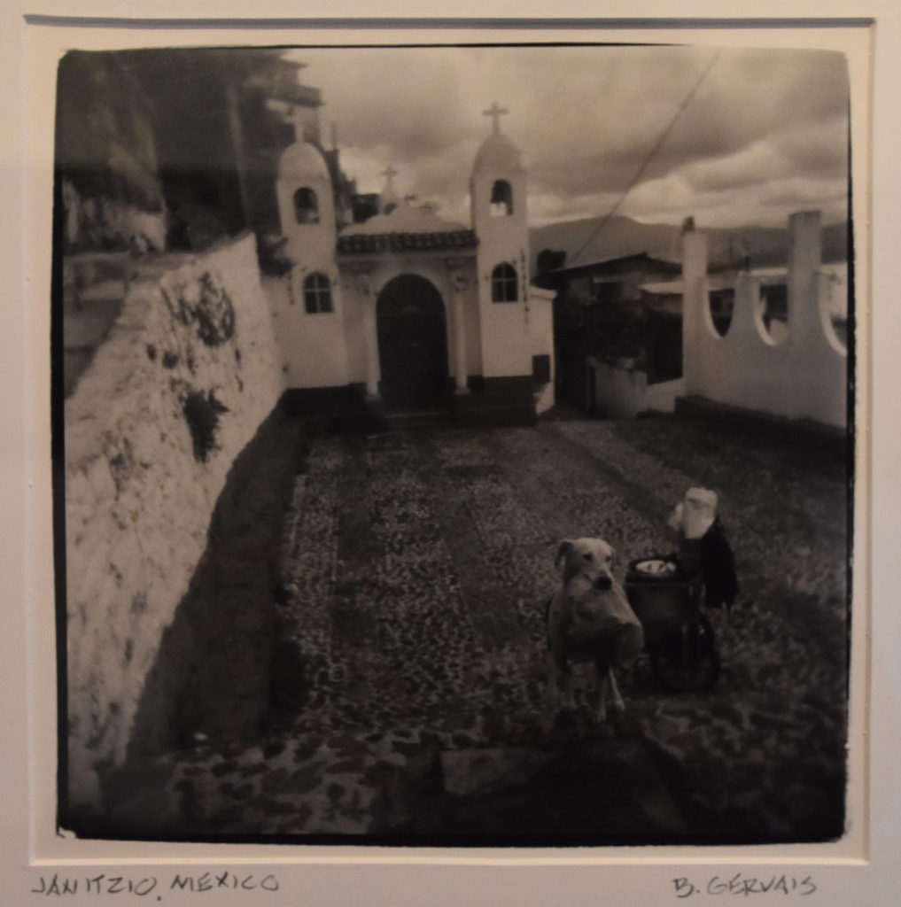 "Bob Gervais ""Janitzio, Mexico."" In the Somerville Toy Camera Festival exhibition at Nave Gallery, Sept. 13, 2019."