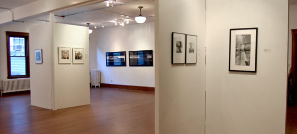 Somerville Toy Camera Festival exhibition at Nave Gallery, Sept. 13, 2019. (Greg Cook)