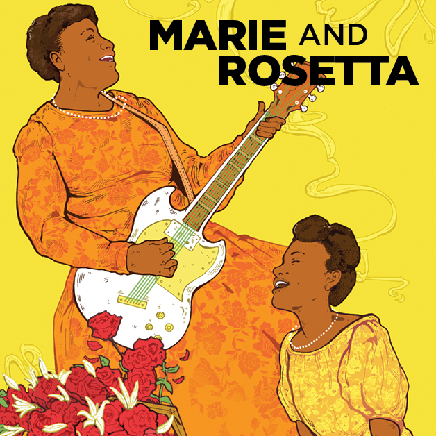 """Marie and Rosetta"" is being co-produced by Boston's Front Porch Arts Collective and Greater Boston Stage Company at its theater in Stoneham from Oct. 17 to Nov. 10, 2019."