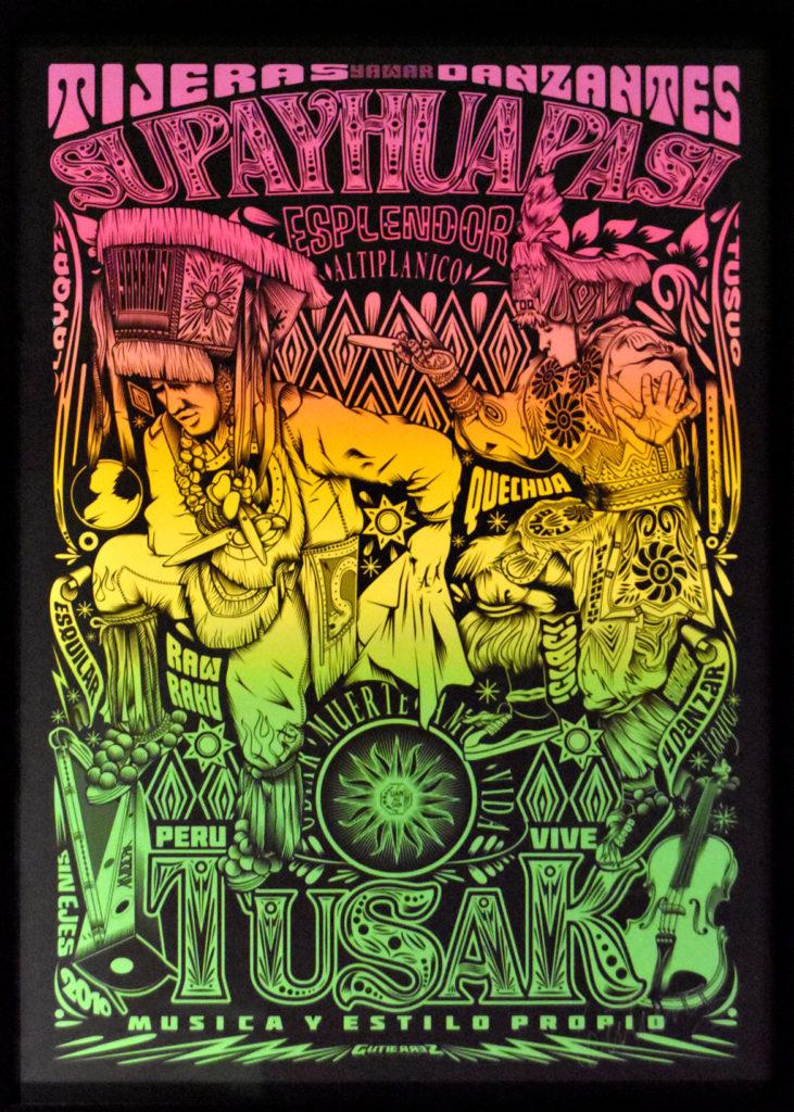Familia Gutierrez (Samuel Gutierrez) inkjet poster, 2018/2019.