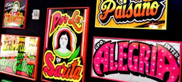 "Pedro ""Monky"" Rojas Mesa posters. (Greg Cook photo)"