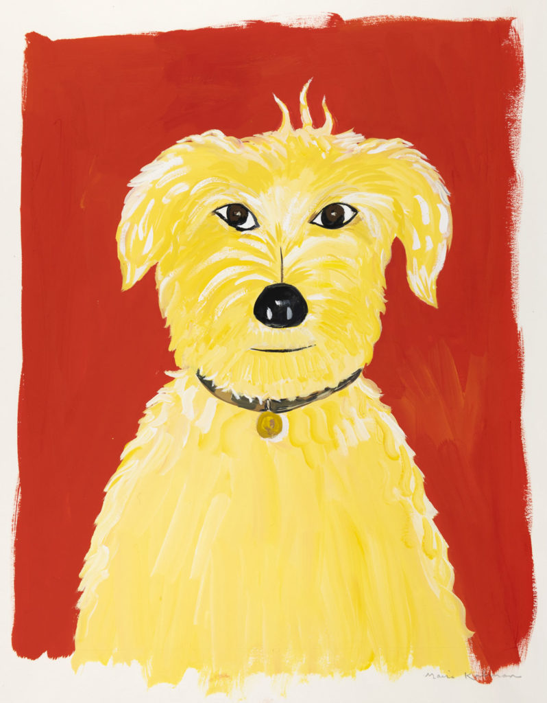 "Maira Kalman, Illustration for ""What Pete Ate From A-Z (Really!)"" (G. P. Putnam's Sons). Courtesy of Julie Saul Projects, New York. © 2001 Maira Kalman."