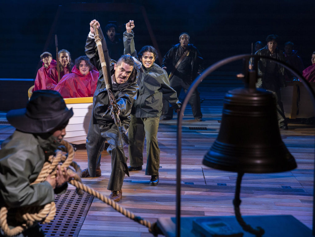 "American Repertory Theater's ""Moby-Dick."" (Maria Baranova photo)"