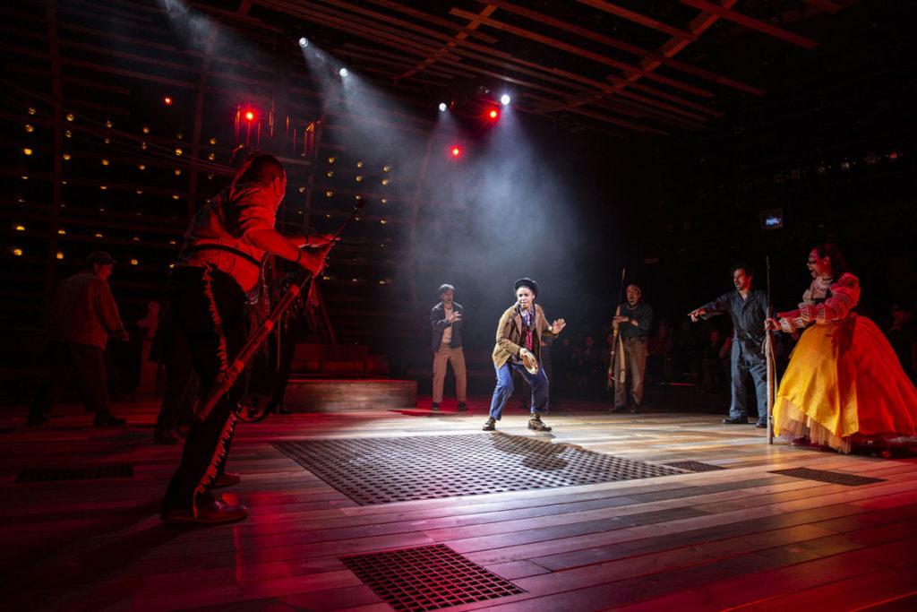 "Morgan Siobhan Green as Pip in American Repertory Theater's ""Moby-Dick."" (Maria Baranova photo)"