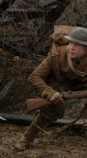 "Blake (Dean-Charles Chapman, left) and Schofield (George MacKay) in ""1917."" (Universal Pictures and DreamWorks Pictures)"
