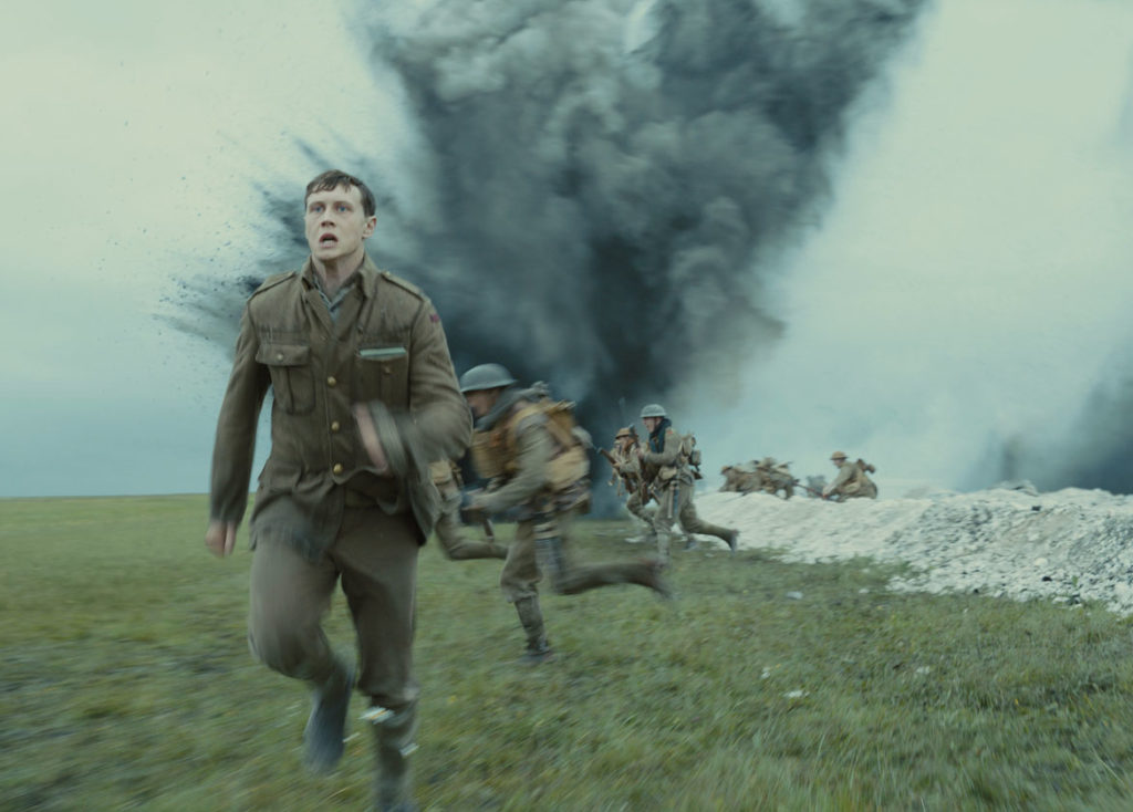 """George MacKay as Schofield in """"1917."""" (Universal Pictures and DreamWorks Pictures)"""
