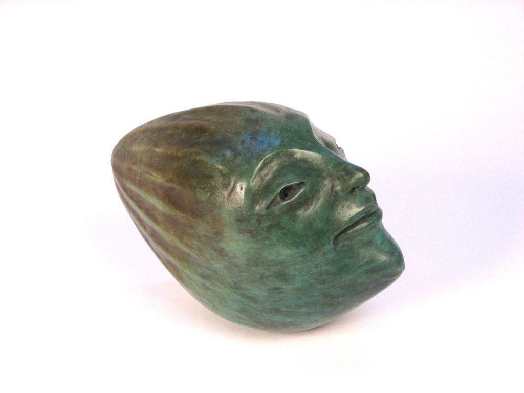 """Joseph Wheelwright, """"Pointy Headed Moon,"""" 1998. (Gallery Kayafas, Boston)"""