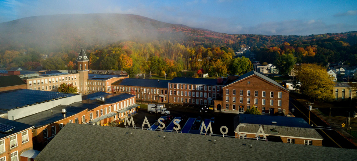 Mass MoCA in North Adams, 2017. (Courtesy Mass MoCA)