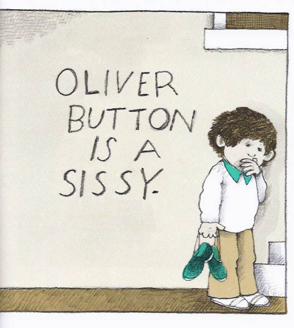 "Tomie DePaola, from ""Oliver Button Is a Sissy,"" 1979."