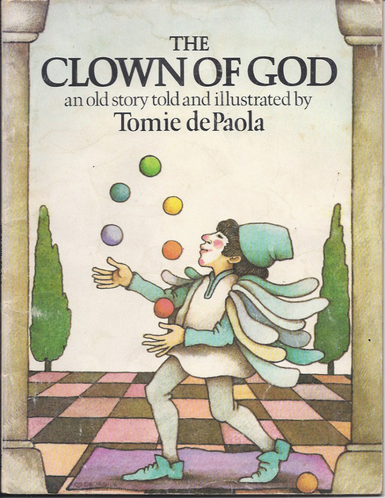 "Tomie DePaola, cover of ""The Clown of God,"" 1978."