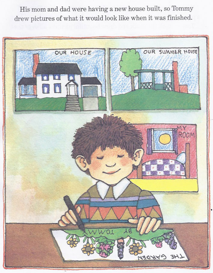 "Tomie DePaola, from ""The Art Lesson,"" 1989."
