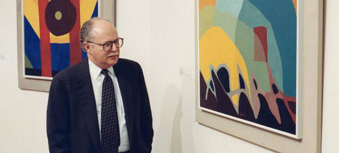 Alan Shestack, former director Of Boston's Museum of Fine Arts. (Courtesy of Museum of Fine Arts, Boston)