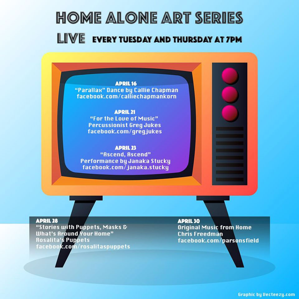 """The Somerville Arts Council's """"Home Alone Art Series."""""""