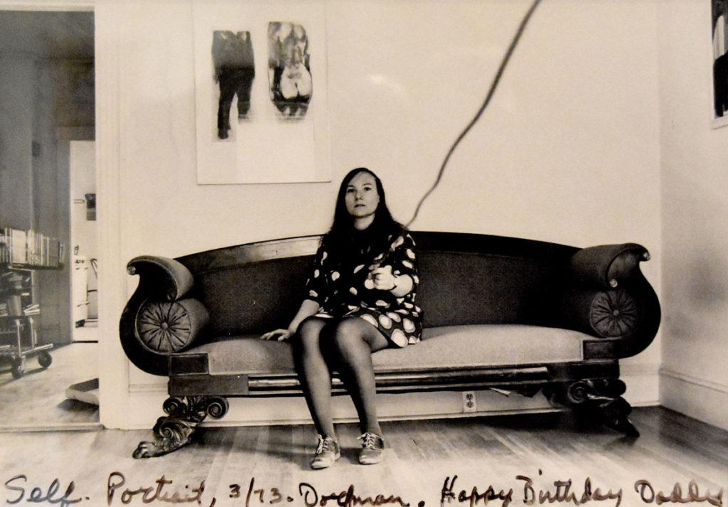 "Elsa Dorfman, ""Self Portrait,"" 1973. (Collection of Museum of Fine Arts, Boston)"