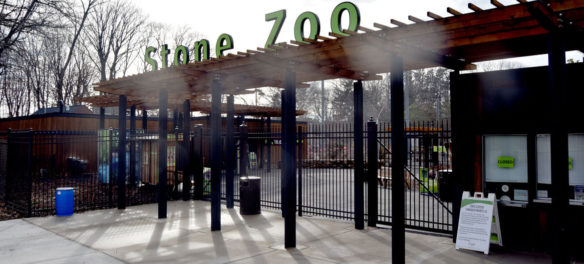 Stone Zoo in Stoneham, March 20, 2020. (Greg Cook photo)