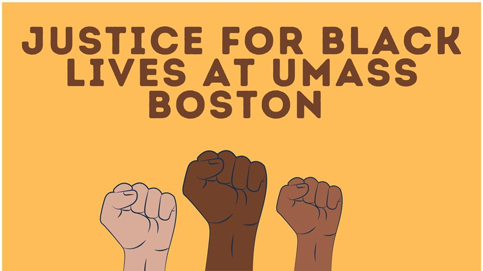 Justice for Black Lives at UMB at Campus Center, UMass Boston, June 6, 2020.