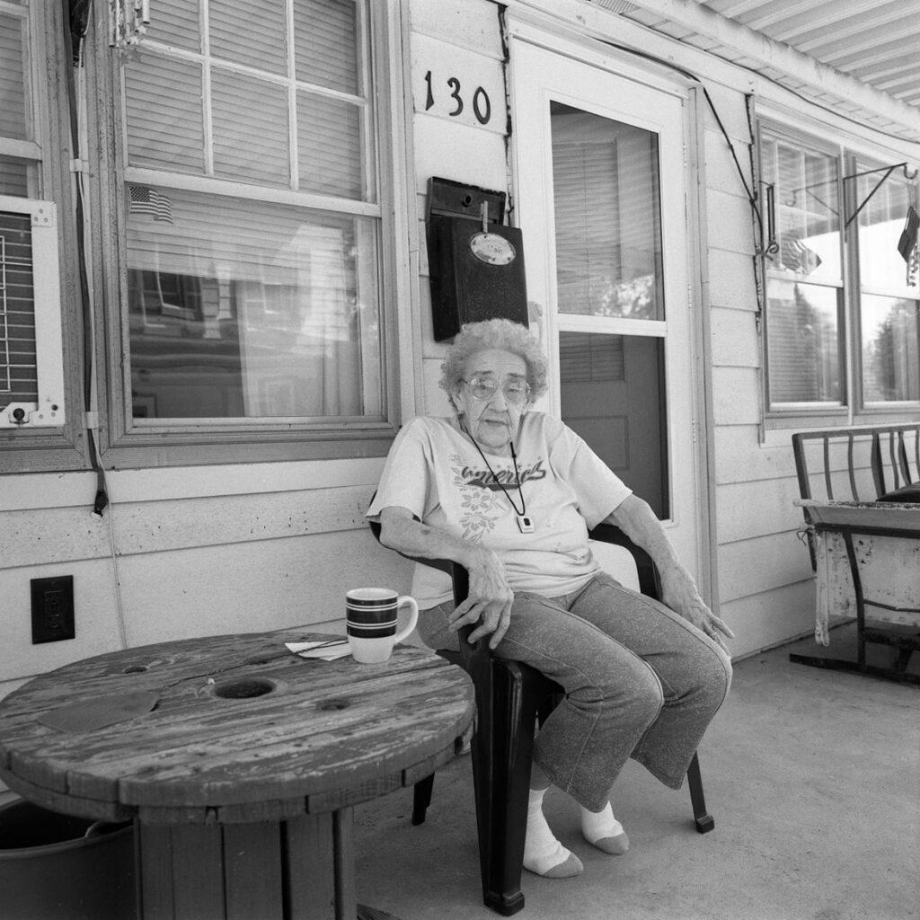 Bill Franson, Mary, Port Deposit, PA, 2015. (Courtesy Gallery Kayafas)