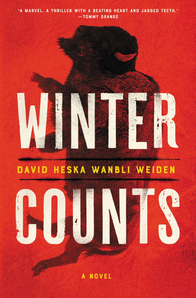 """Winter Counts"" by David Heska Wanbli Weiden (Ecco)"