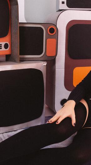 "Roz Raskin of the ""cosmic pop"" band Nova One. (Photo by Brittany Taylor)"