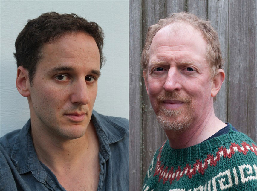Jake Halpern (left, photo by Kasia Lipsia) and Michael Sloan (photo by Leslie Stone).