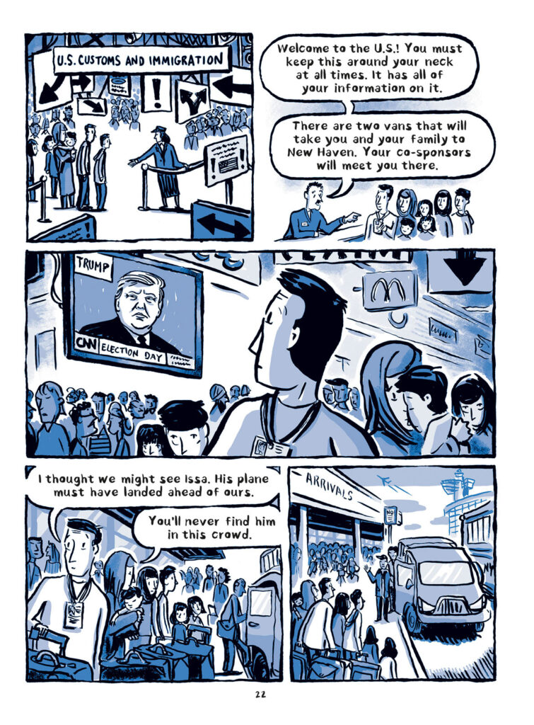 """""""Welcome to the New World"""" by Jake Halpern and Michael Sloan, page 22. (Metropolitan Books)"""
