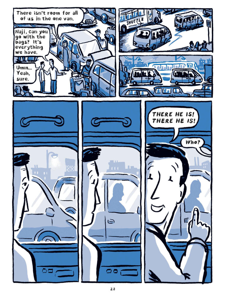 """""""Welcome to the New World"""" by Jake Halpern and Michael Sloan, page 23. (Metropolitan Books)"""