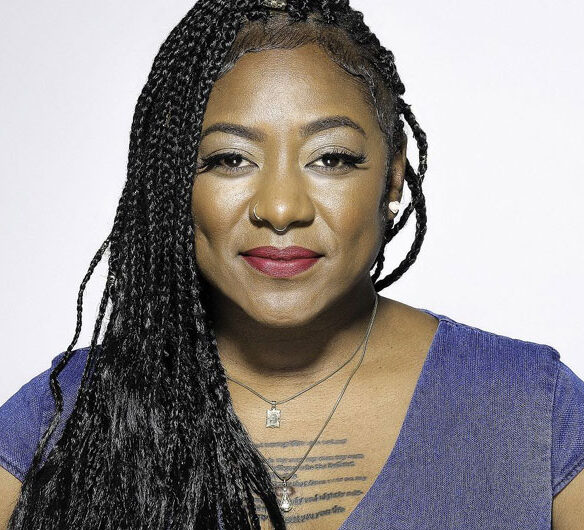 Black Lives Matter co-founder Alicia Garza. (Photo: © Scott Hoag / Penguin Random House)