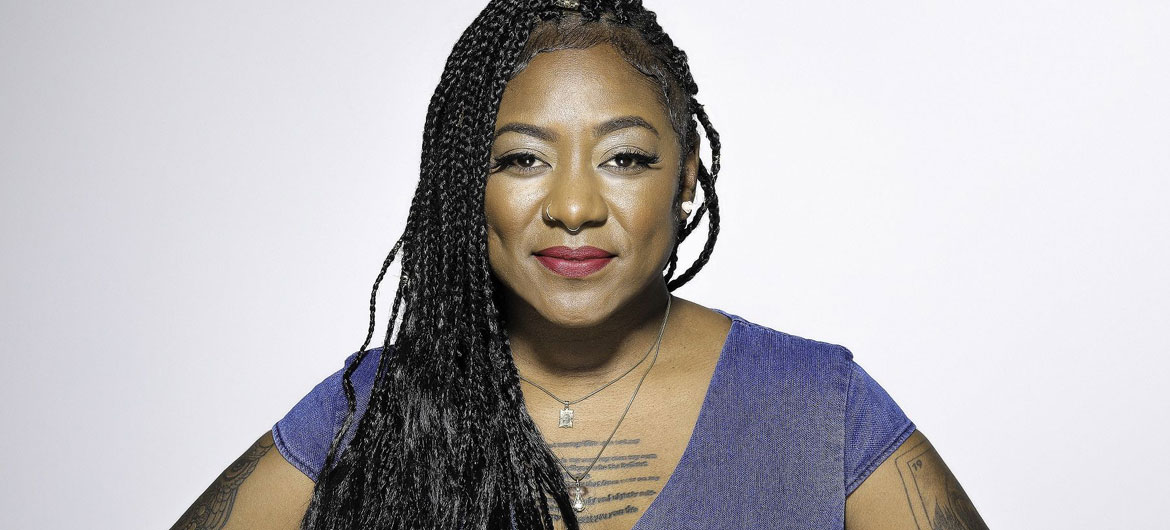Black Lives Matter co-founder Alicia Garza. (Photo: © Scott Hoag / Penguin Random House)