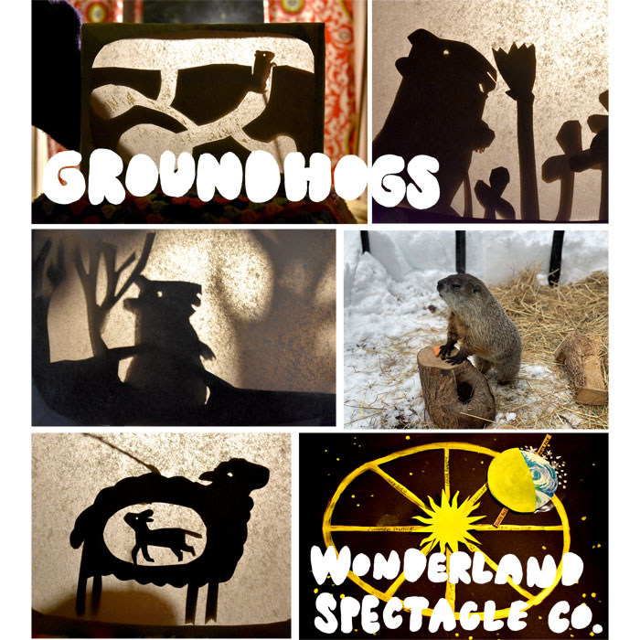 """Groundhogs"" by Wonderland Spectacle Co."