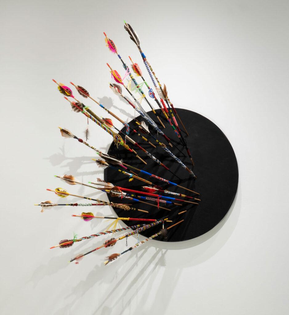 """Indigenous Trauma,"" by James Ari Montford, 2021. (Howard Yezerski Gallery)"