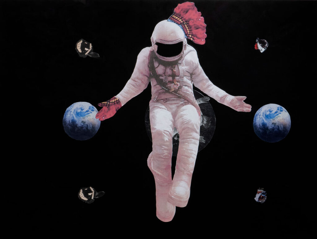 by James Ari Montford. (Howard Yezerski Gallery)