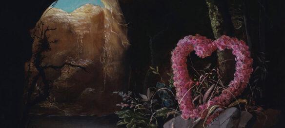 "Nicole Duennebier, ""Discarded Valentine"" (detail). (13 Forest)"
