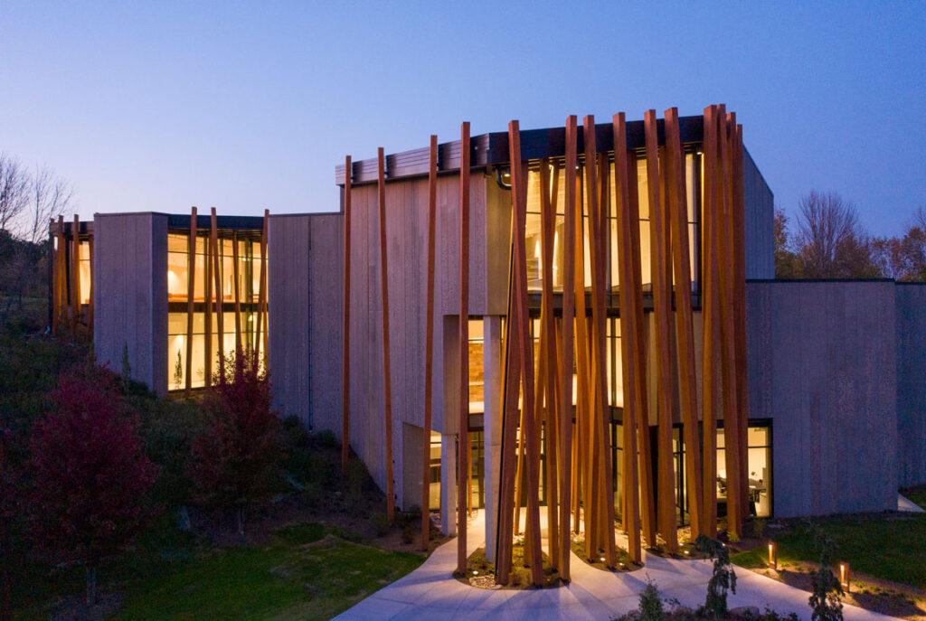 The Art Preserve of the Kohler Arts Center at Sheboygan, Wisconsin. (Photo by Durston Saylor, courtesy Kohler Arts Center)