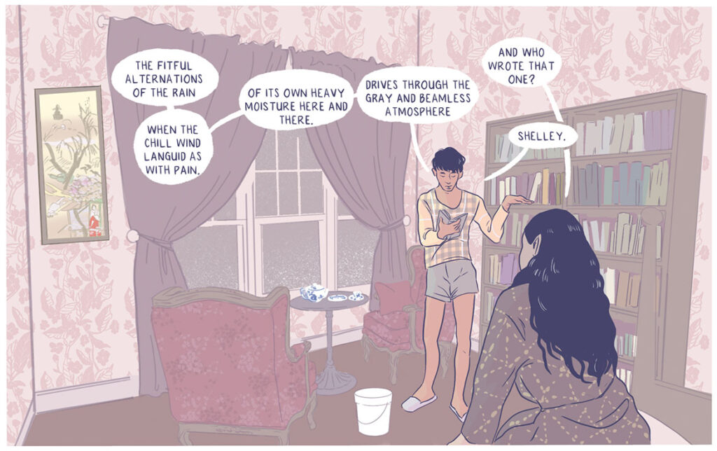 """From Ingrid Pierre's graphic novel """"Do Not Resuscitate."""""""