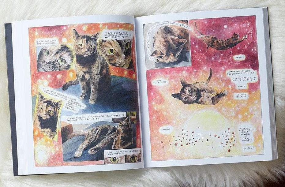 """From Karl Stevens's graphic novel """"Penny: A Graphic Memoir."""""""