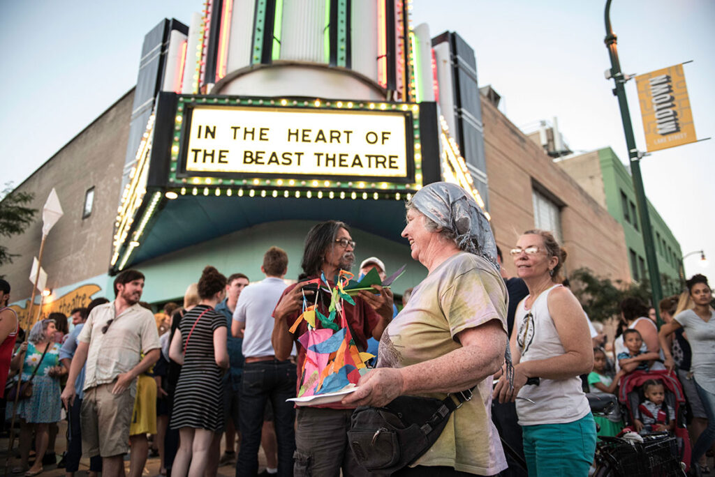 In the Heart of the Beast Puppet and Mask Theater's Avalon Theatre in Minneapolis. (Courtesy)