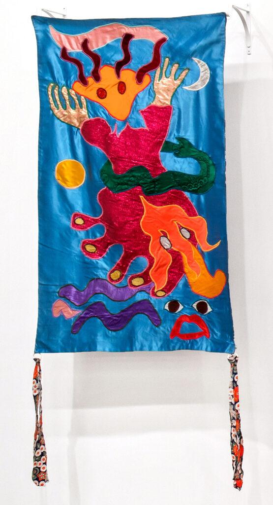 Moki Cherry, title unknown, c. 1973, textile applique. (Corbett vs. Dempsey)