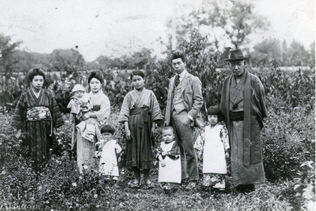 Yayoi Kusama's family, ca. 1929. (Courtesy of the artist)