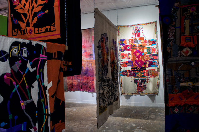 """Norman Laliberte's 2019 exhibit """"Inside the Mind of a Maker"""" at Montserrat College of Art, Beverly. (Photo: Montserrat College of Art)"""