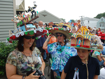 Easy Crazy Hat Day Ideas Is the �crazy hat ladies.