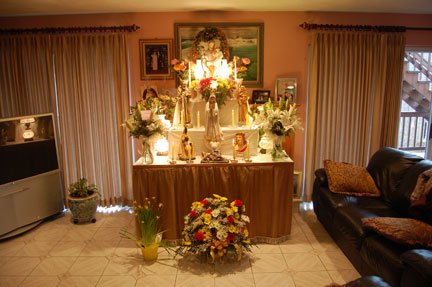Catholic home altar designs catholic house plan and home design ideas - Home altar designs ...